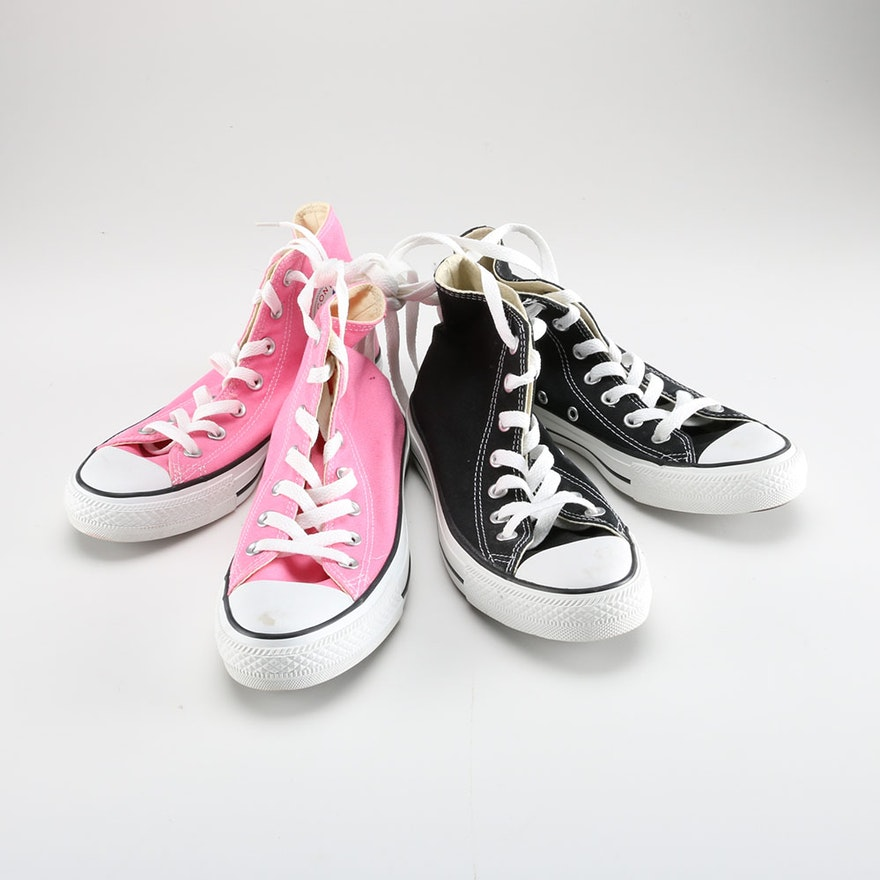 08c50a47218e Two Pairs of Converse Chuck Taylor Sneakers   EBTH