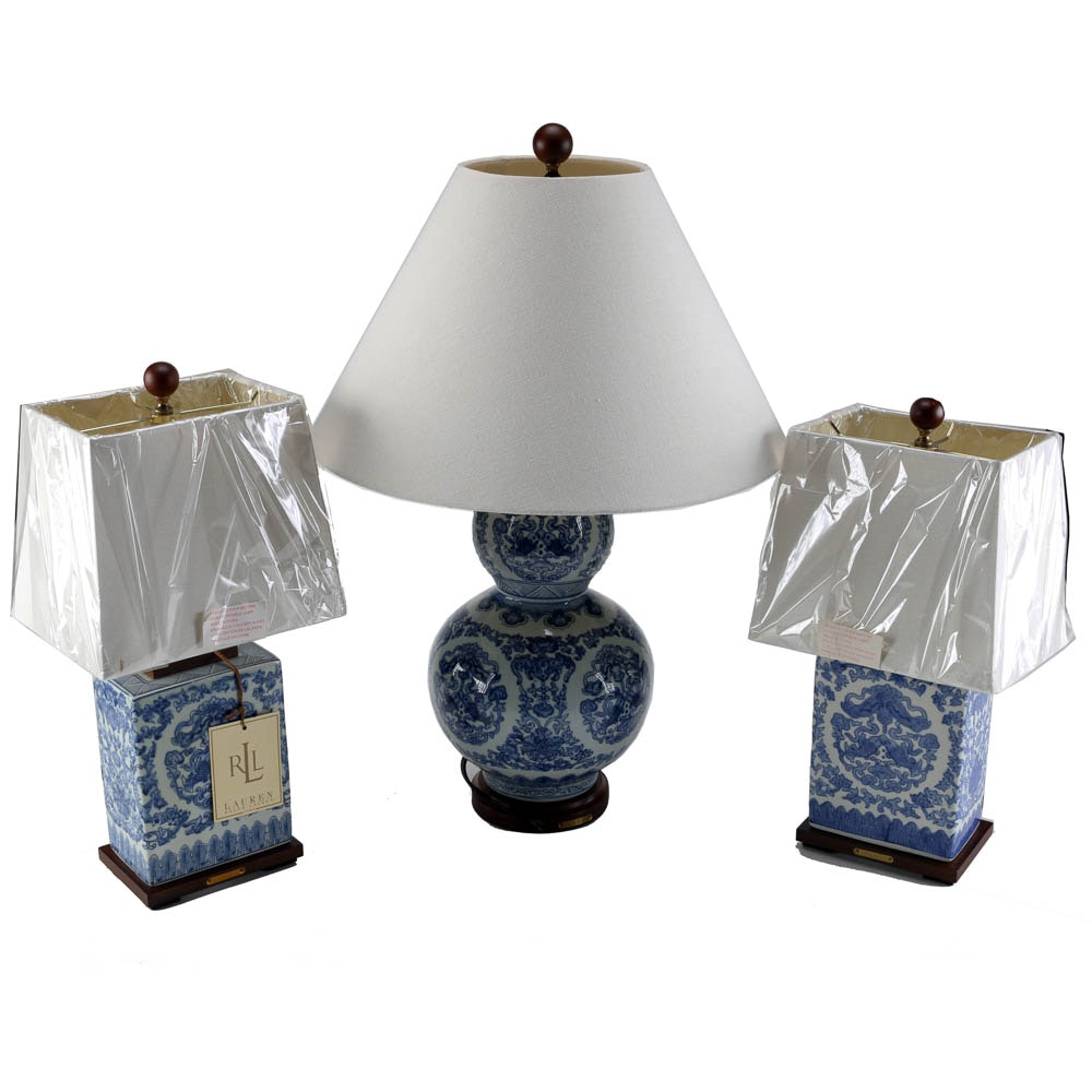 Collection of Ralph Lauren Table Lamps