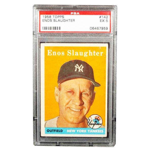 1959 Topps Enos Slaughter