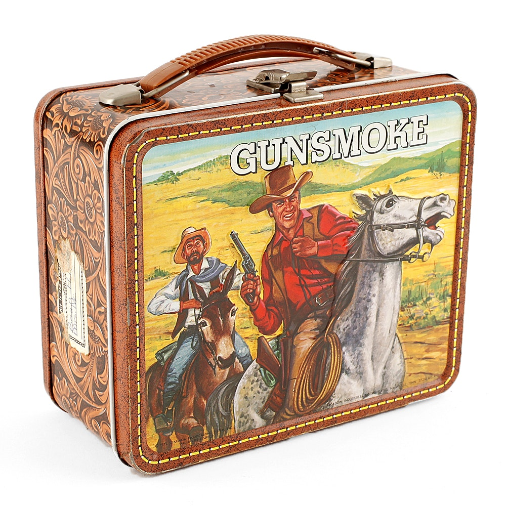 1970 Gunsmoke Lunchbox
