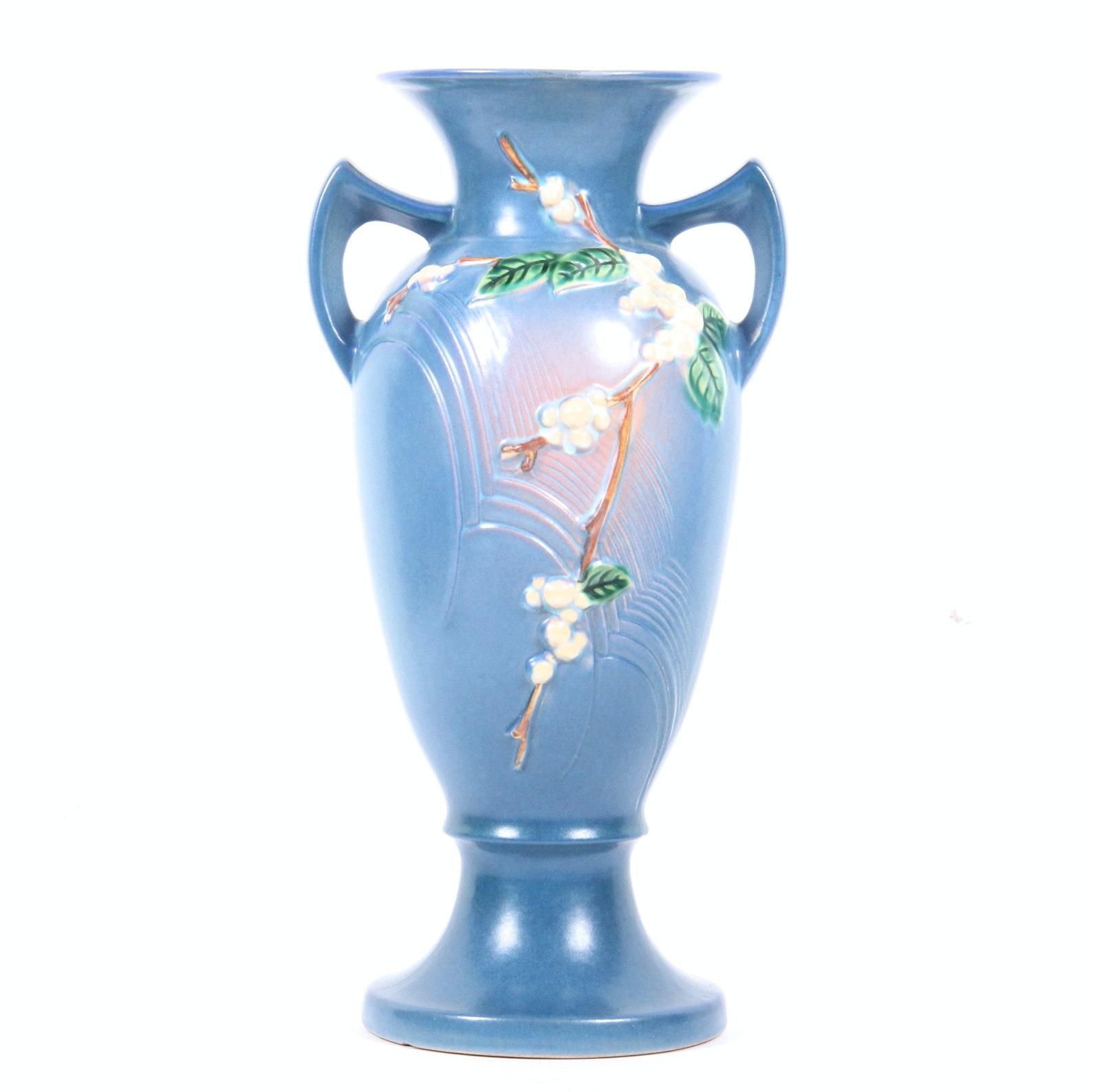 1946 Roseville Pottery Snowberry Vase