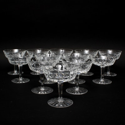 All categories in art furnishings d cor more 16wdc062 ebth - Waterford champagne coupe ...