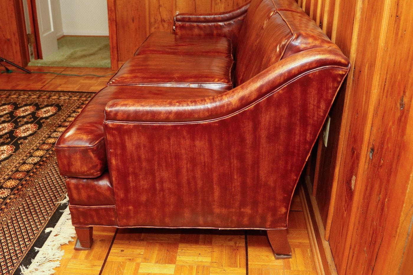 Lackawanna Leather Sofa: Lackawanna Leather Co. Sofa