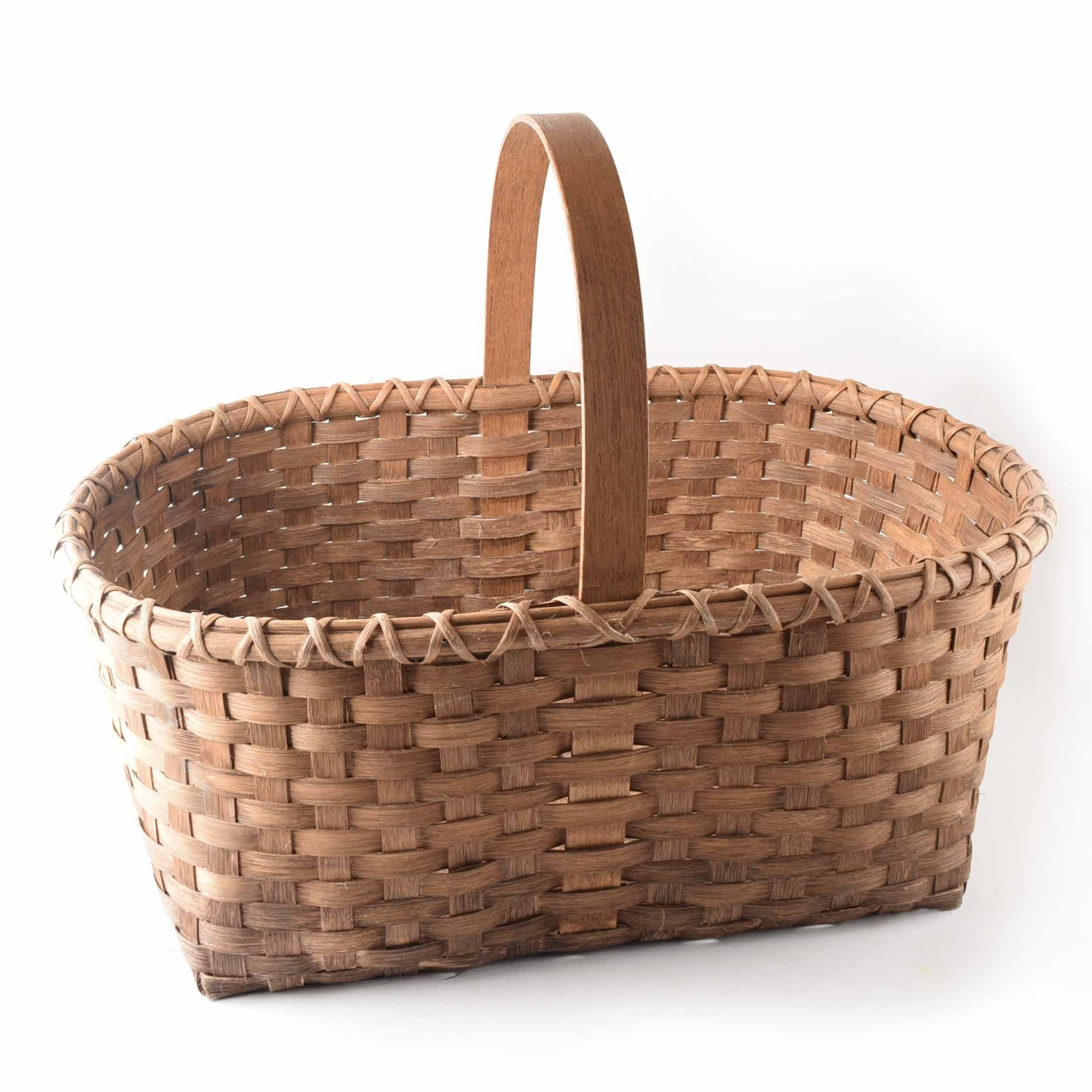 Antique Decorative Baskets Vintage Decorative Baskets In Collectibles Traditional Furnishings
