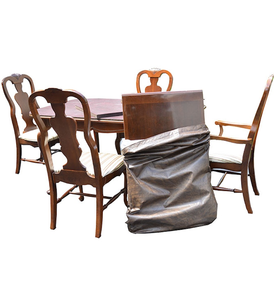 Bassett Furniture Dining Chairs: Bassett Dining Table And Chairs : EBTH