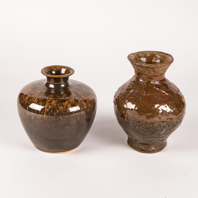 Pair of Ceramic Vessels