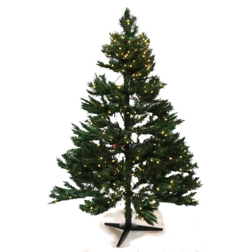 "Trim-A-Home Pre-Lit Pine ""Perfect Christmas Tree"""