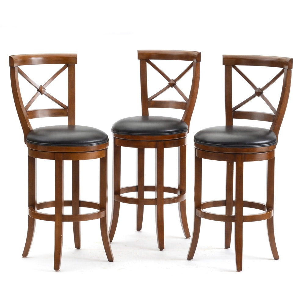 Stickley Mission Collection Bar Stool Ebth