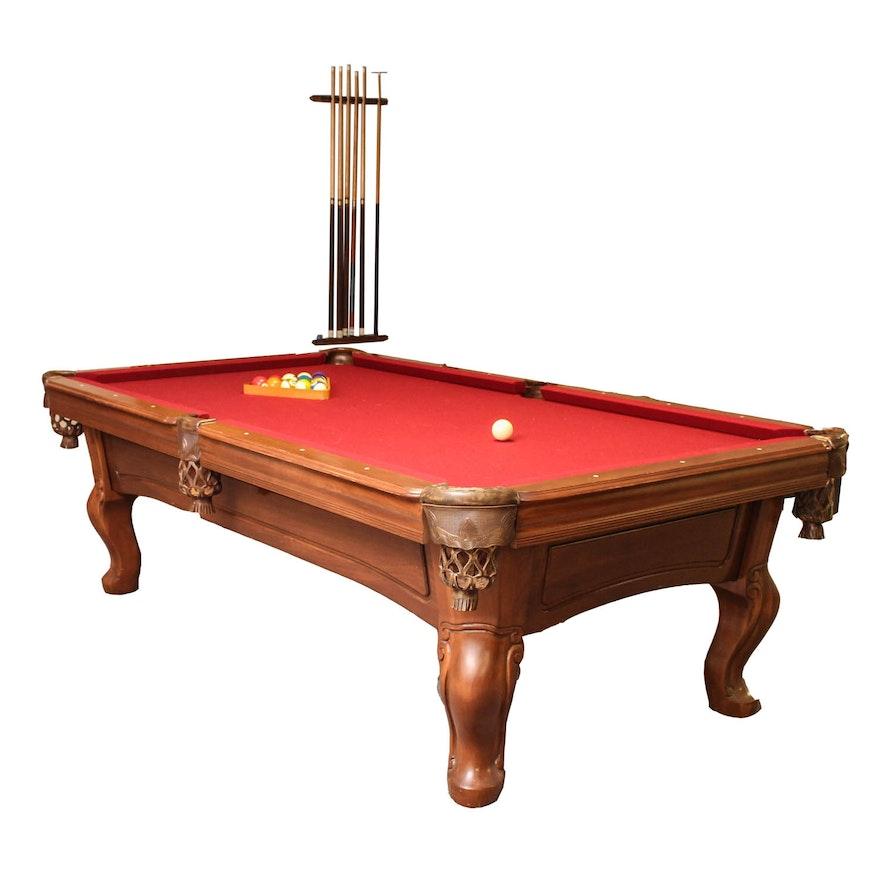 World Of Leisure Maple Pool Table EBTH - Steve mizerak pool table