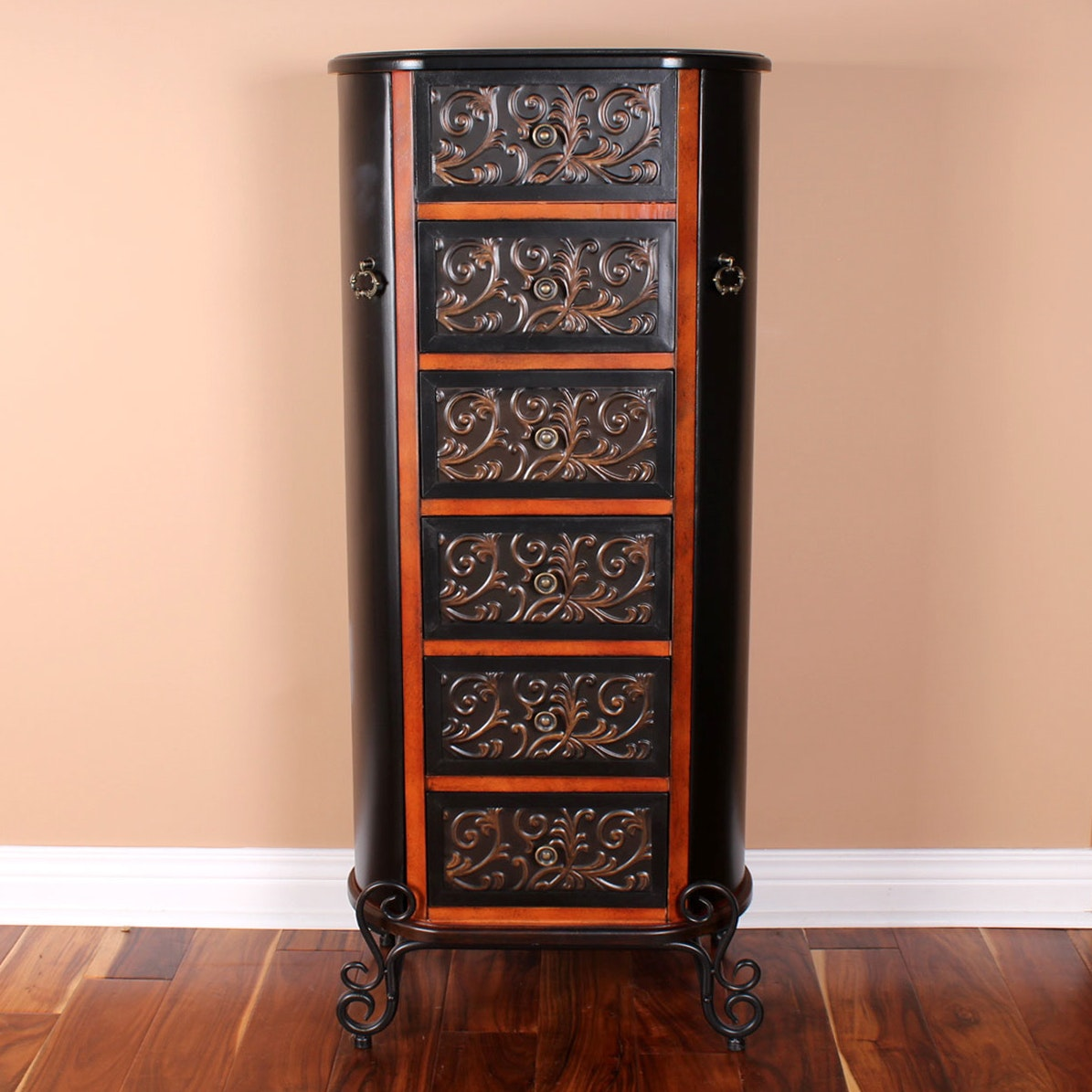 quot aledo quot jewelry armoire from pier 1 imports ebth