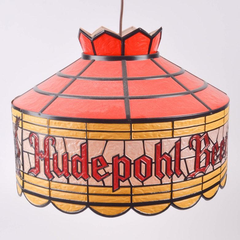 Vintage Budweiser Clydesdale Bar Clock And Light : EBTH