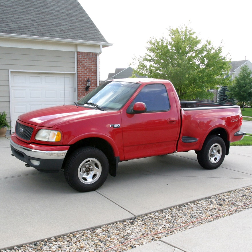 2000 Red Ford F150 Truck Ebth