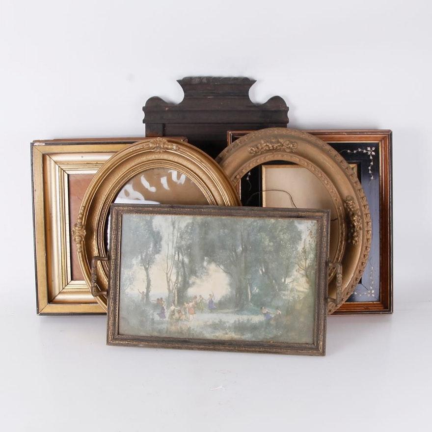 72a537256c57 Assortment of Antique Frames   EBTH