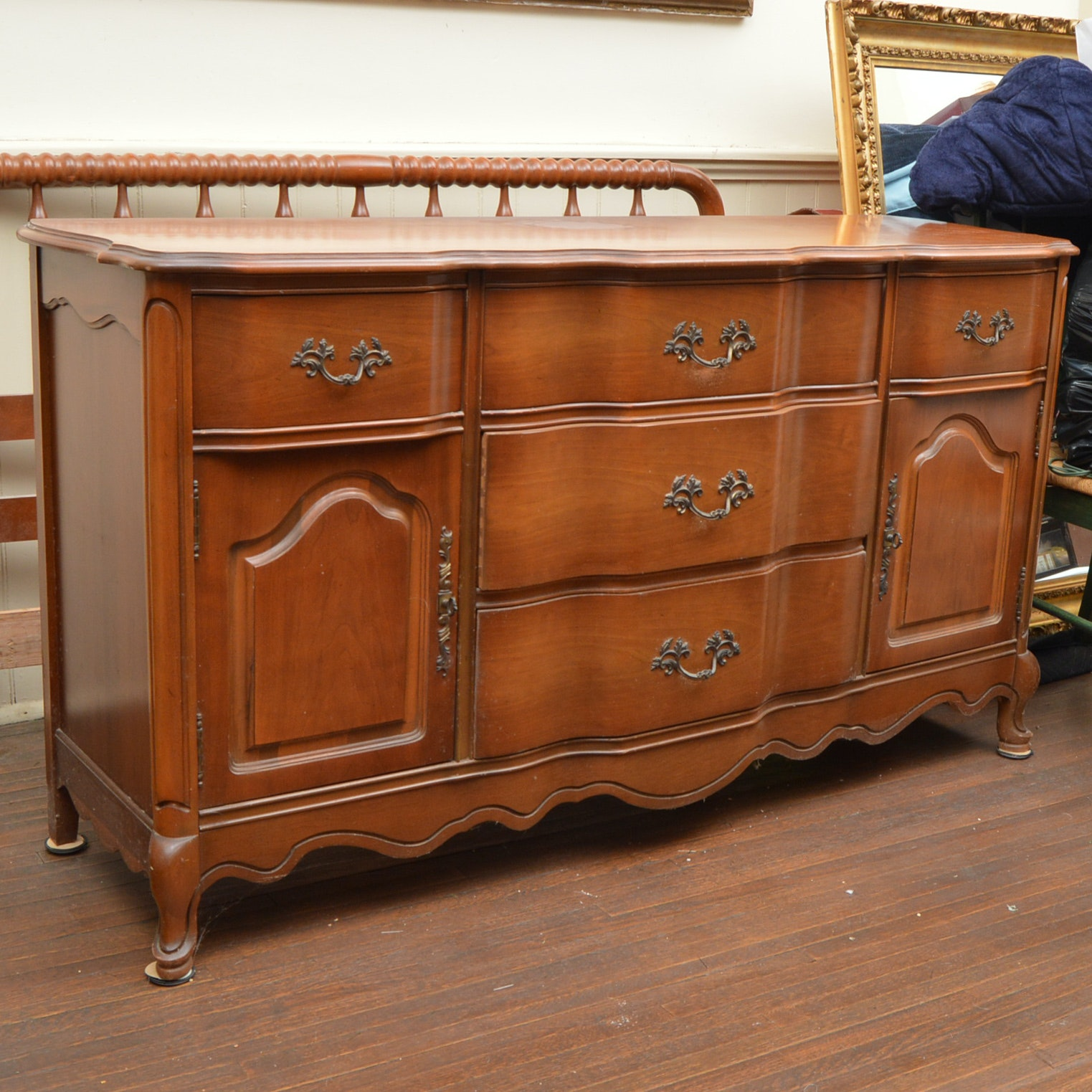 Bassett Furniture French Provincial Style Buffet ...