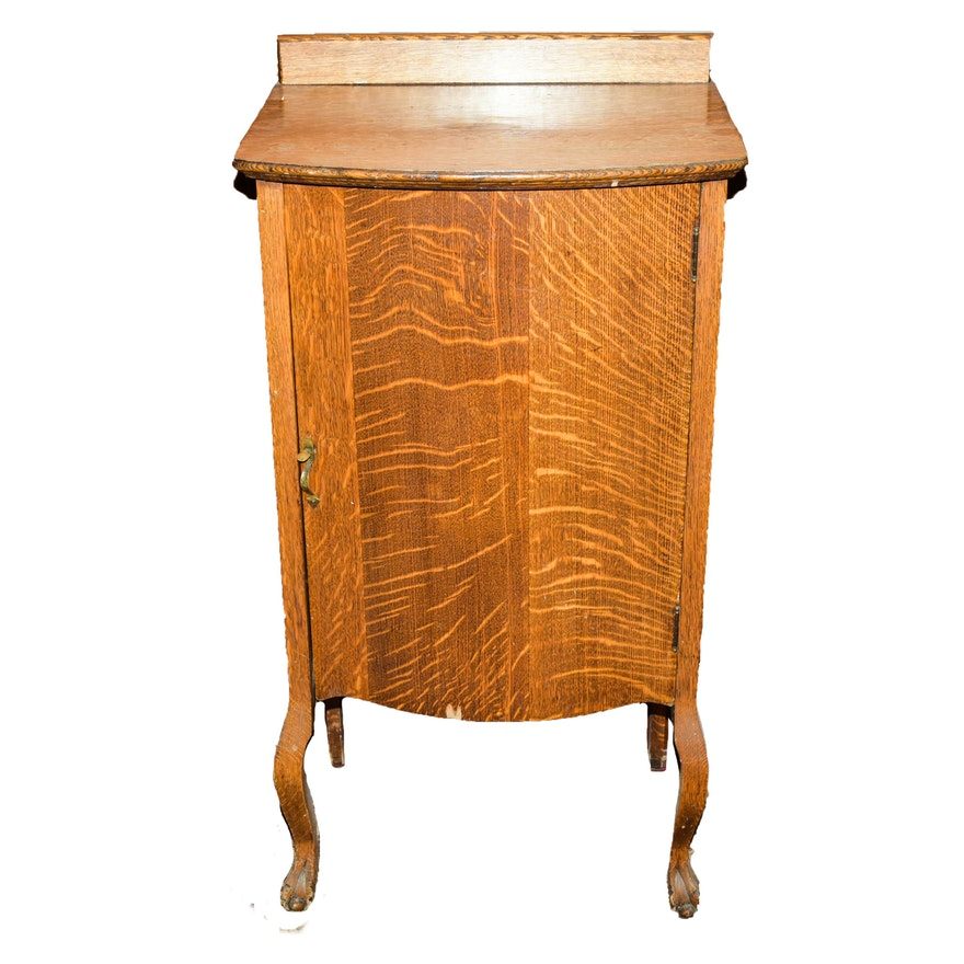 Antique Sheet Music Cabinet ... - Antique Sheet Music Cabinet : EBTH