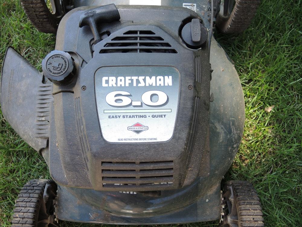 22 Quot Craftsman 6 0 Mulcher Lawn Mower Ebth