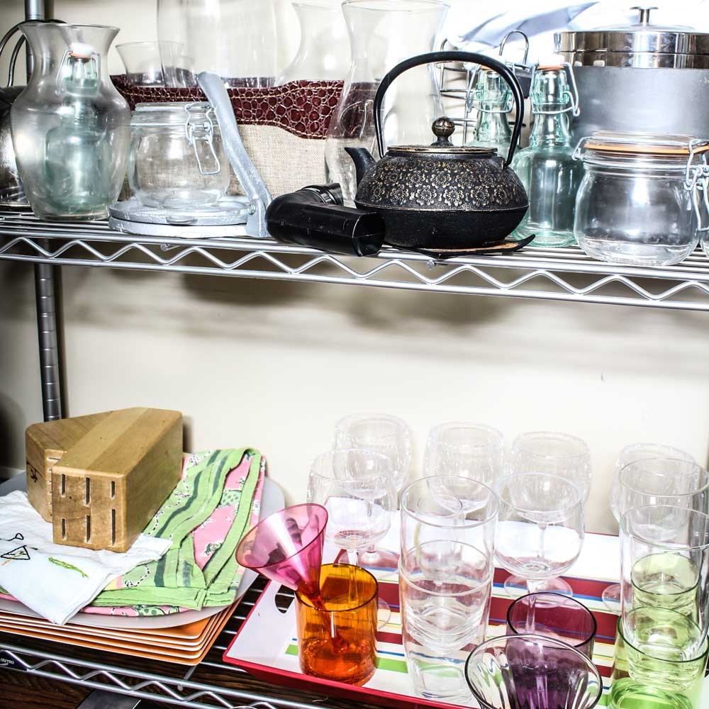 collection of kitchen decor and gadgets ebth