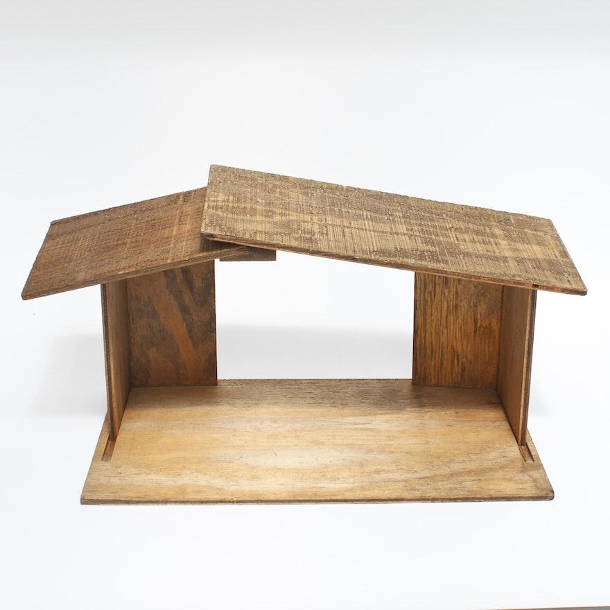 home interiors gifts inc wooden manger ebth