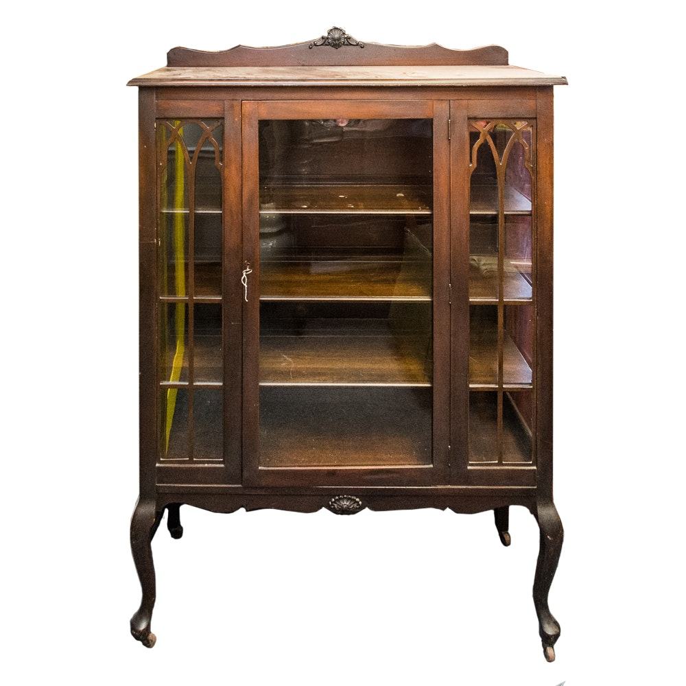 Attractive Easton Furniture Wooden Vitrine ...