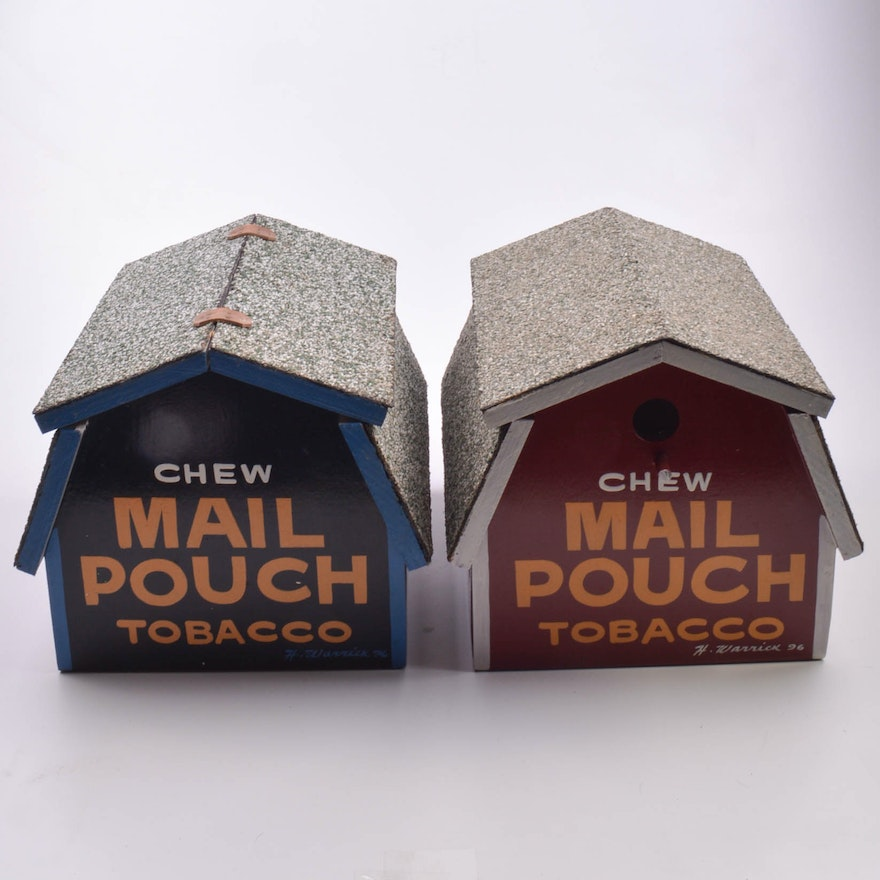 Swell Mail Pouch Tobacco Bird House And Feeder By Harley Warrick Interior Design Ideas Philsoteloinfo