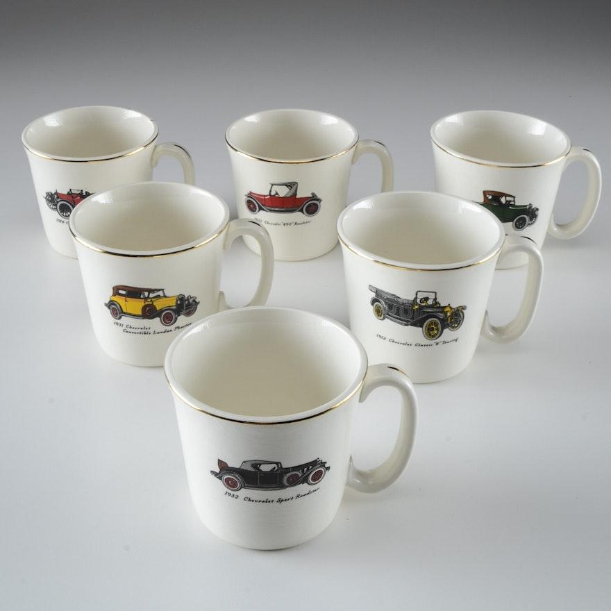 Salem Chevrolet: Collection Of Vintage Salem Ohio Chevrolet Car Coffee Cups