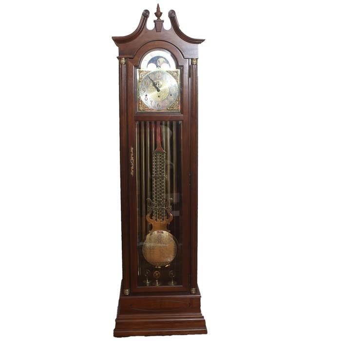 King Arthur Clock Company Grandfather Clock Ebth