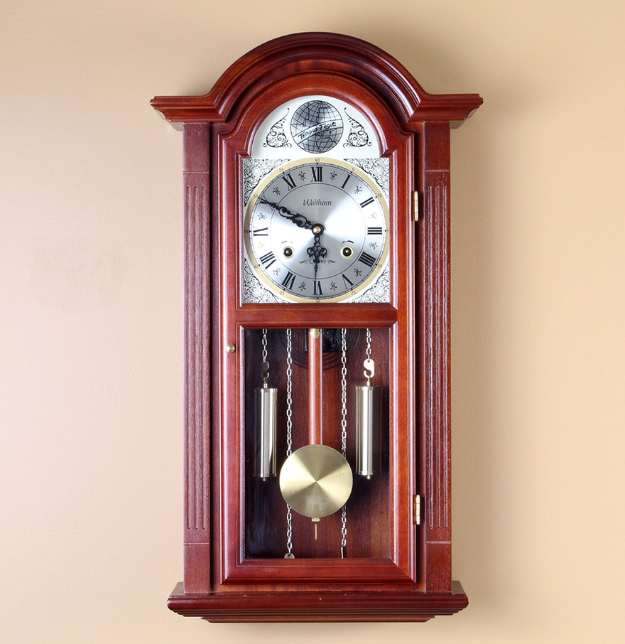 Waltham 31 day chime wall clock ebth waltham 31 day chime wall clock amipublicfo Image collections