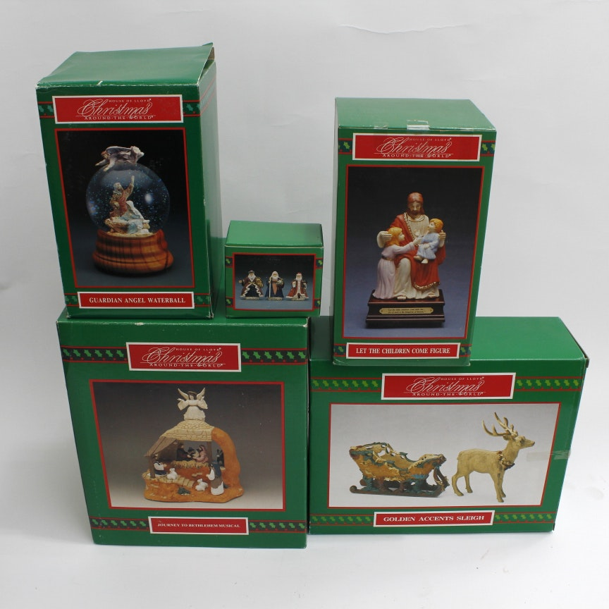 """Collection Of House Of Lloyd """"Christmas Around The World"""