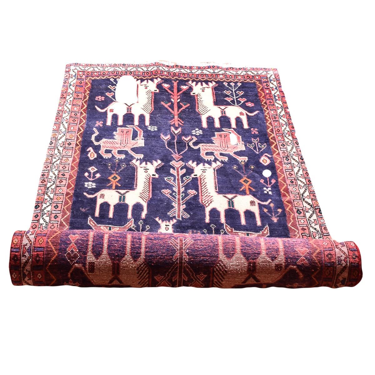 Elaborate Handwoven Persian Area Rug