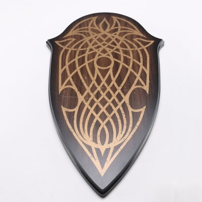 """""""Lord of the Rings"""" Elven Knife of Strider Display Plaque"""