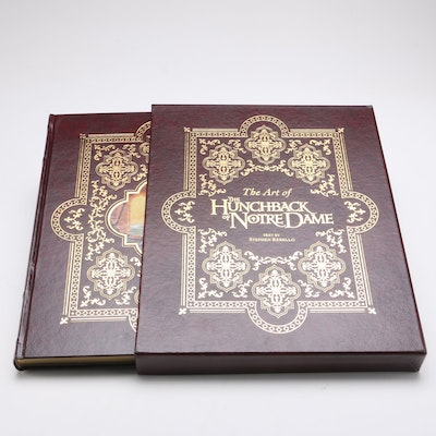 """Signed First Edition """"The Art of The Hunchback of Notre Dame"""""""