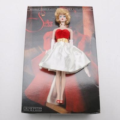 """1992 """"Silken Flame"""" Porcelain Barbie Doll"""