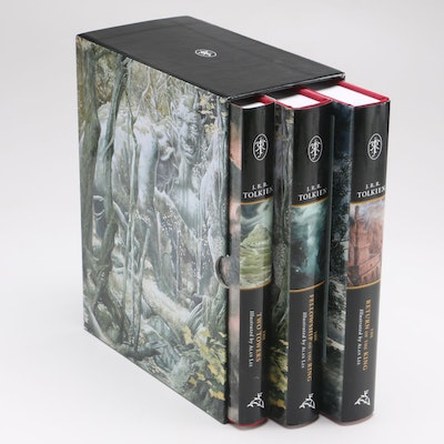 Illustrated Lord of the Rings Book Set