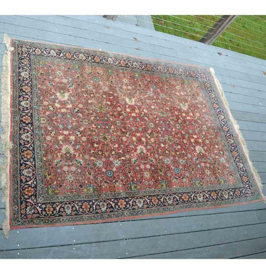 Handmade wool area rug ebth for Custom made area rugs