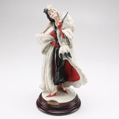 """2001 Giuseppe Armani """"Cruella"""" Limited Edition Signed Statue"""