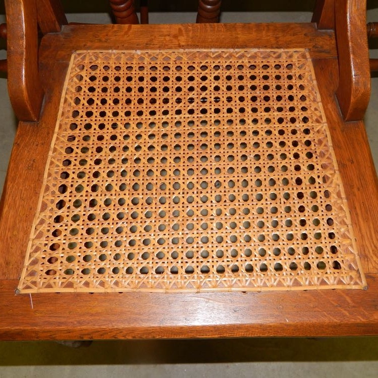 Six Eastlake Victorian Carved Cane Seat Chairs Ebth