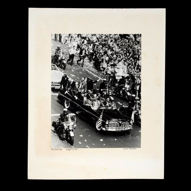 Lynne Shavelson Silver Gelatin Photograph of Apollo 11 Homecoming Parade