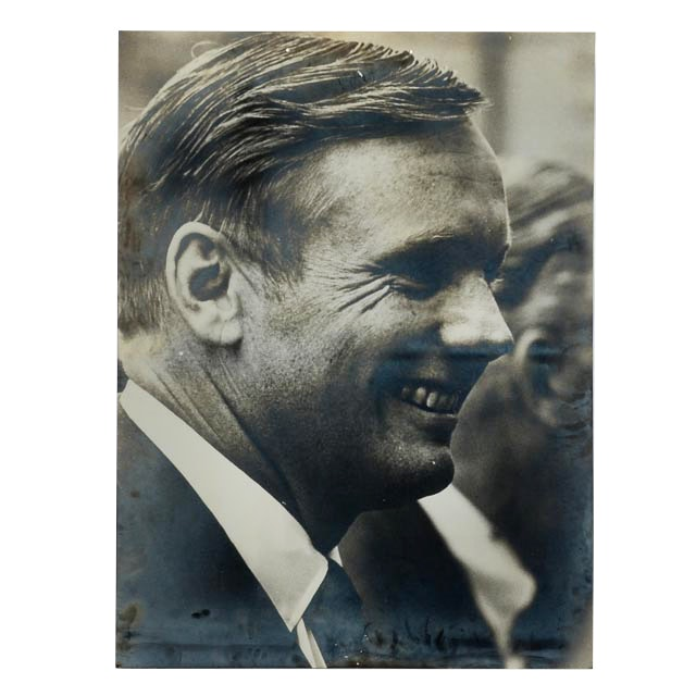 Large Silver Gelatin Photograph of Neil Armstrong