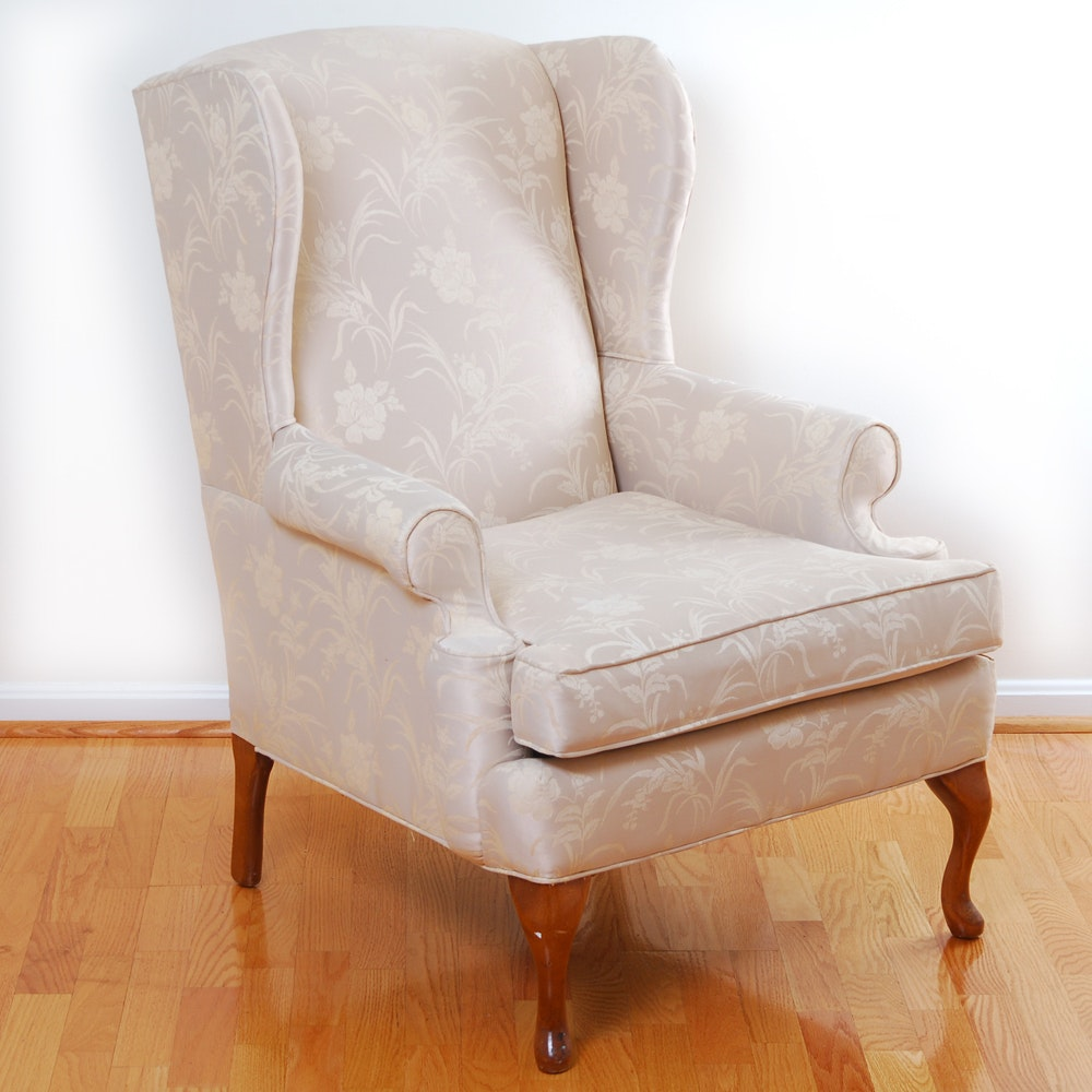 Clayton Marcus Upholstered Wing Back Chair ...