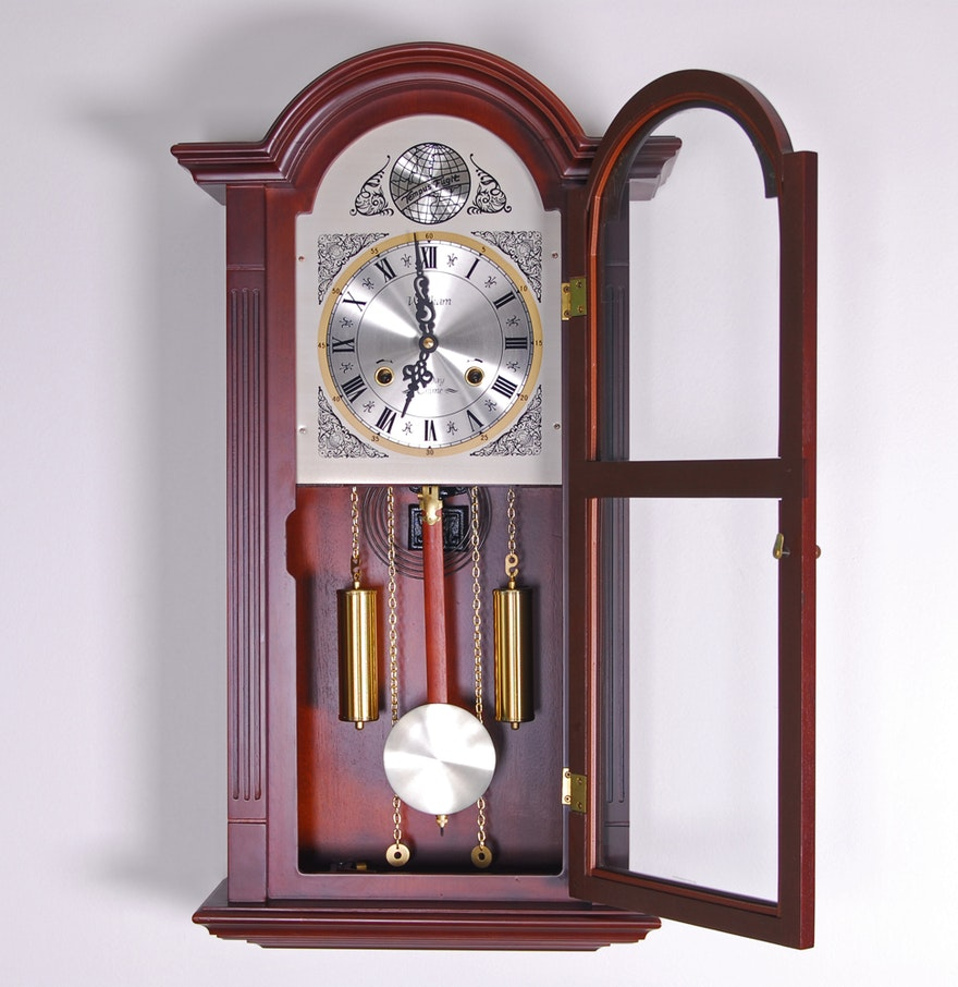 Waltham tempus fugit 31 day chime wall clock ebth waltham tempus fugit 31 day chime wall clock amipublicfo Image collections