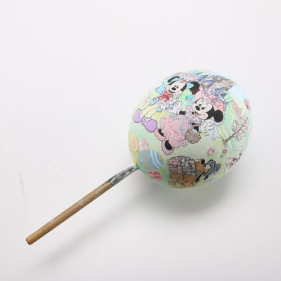 Hand-Painted Ostrich Egg