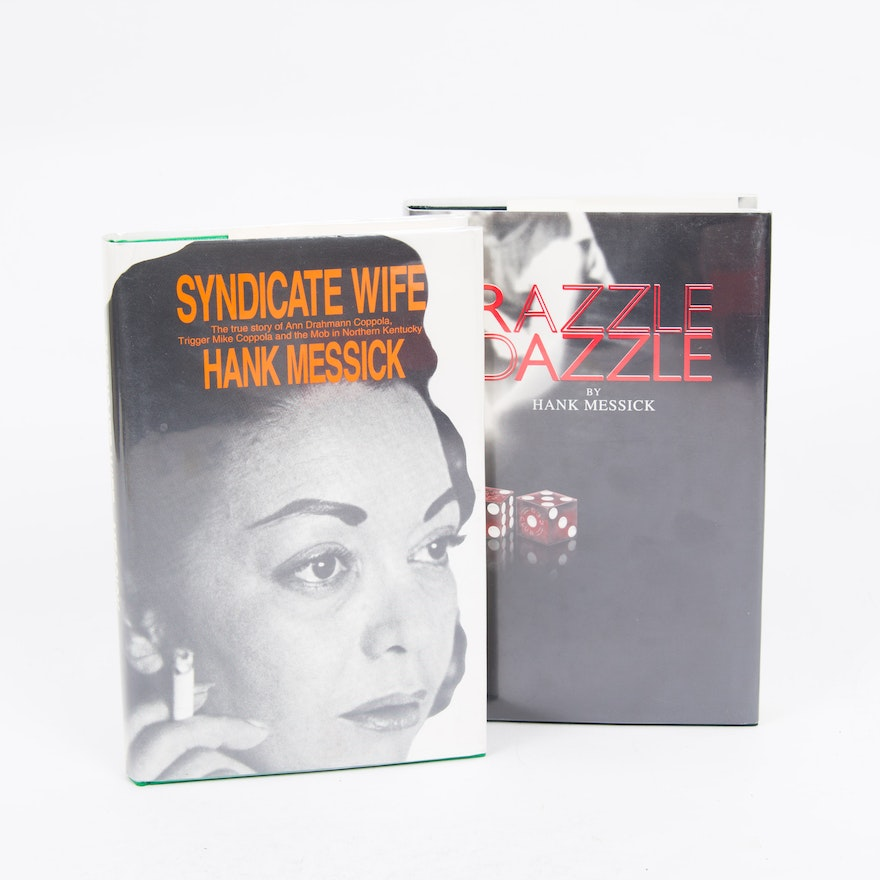 "Northern Kentucky Auto Sales >> ""Syndicate Wife"" and ""Razzle Dazzle"" Mob Theme book set by Hank Messick 