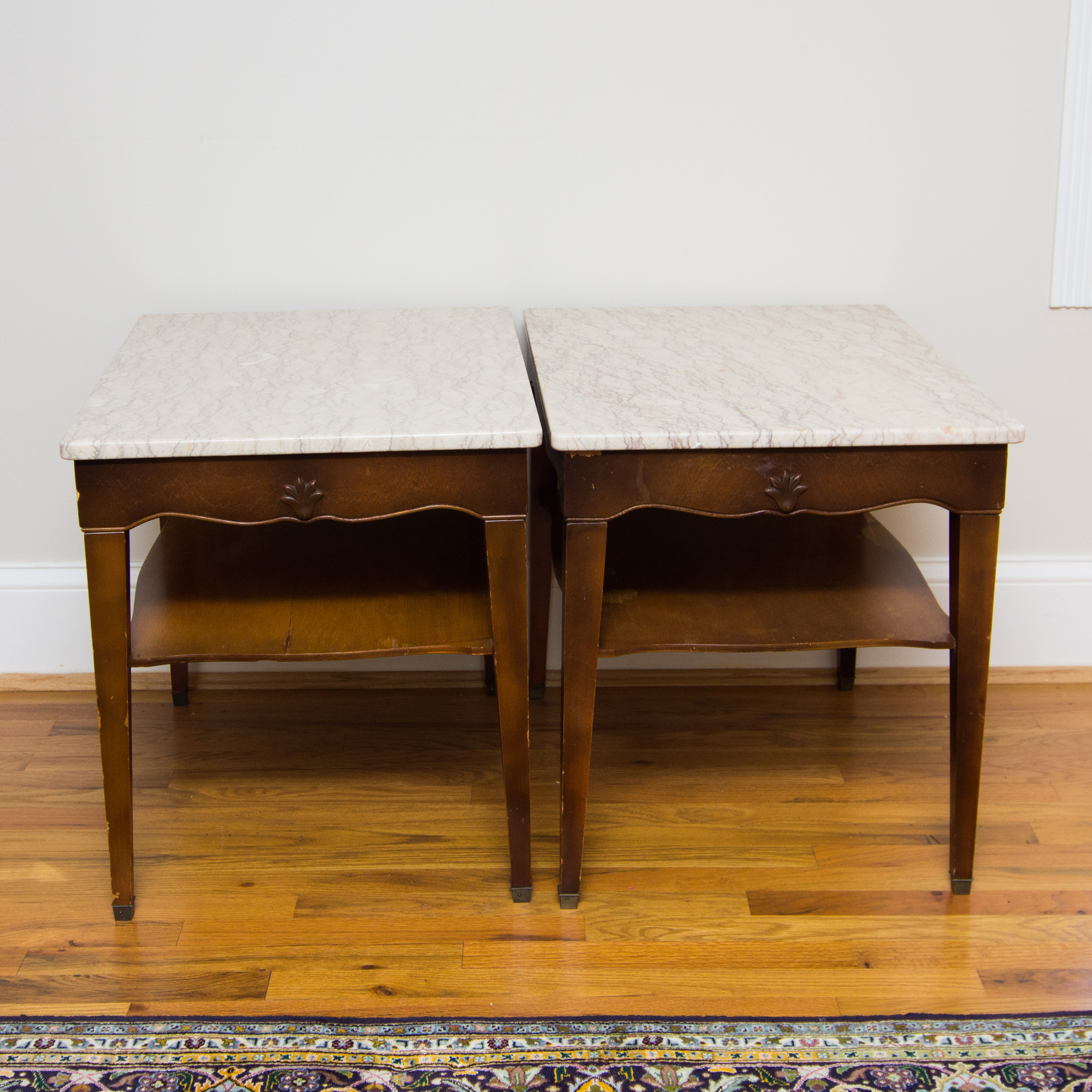marble top end tables. Marble Top End Tables From Portugal