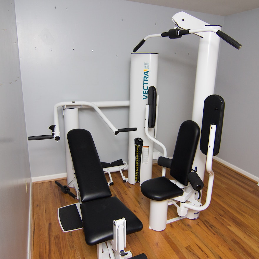 Vectra on line 1400 home gym : ebth