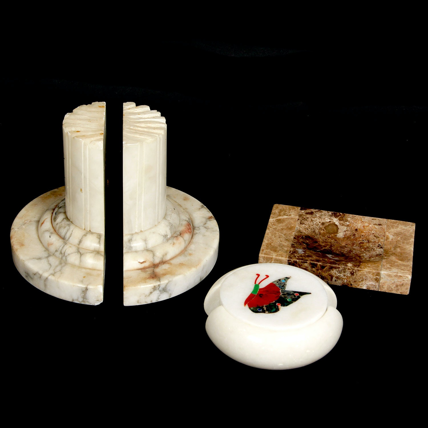 Marble Home Decor Grouping