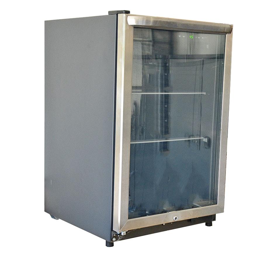 Frigidaire glass front beverage center mini fridge ebth frigidaire glass front beverage center mini fridge planetlyrics Image collections