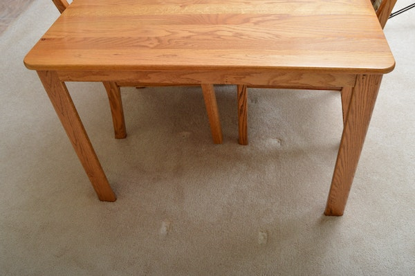 Oak Dining Table And Chairs Ebth