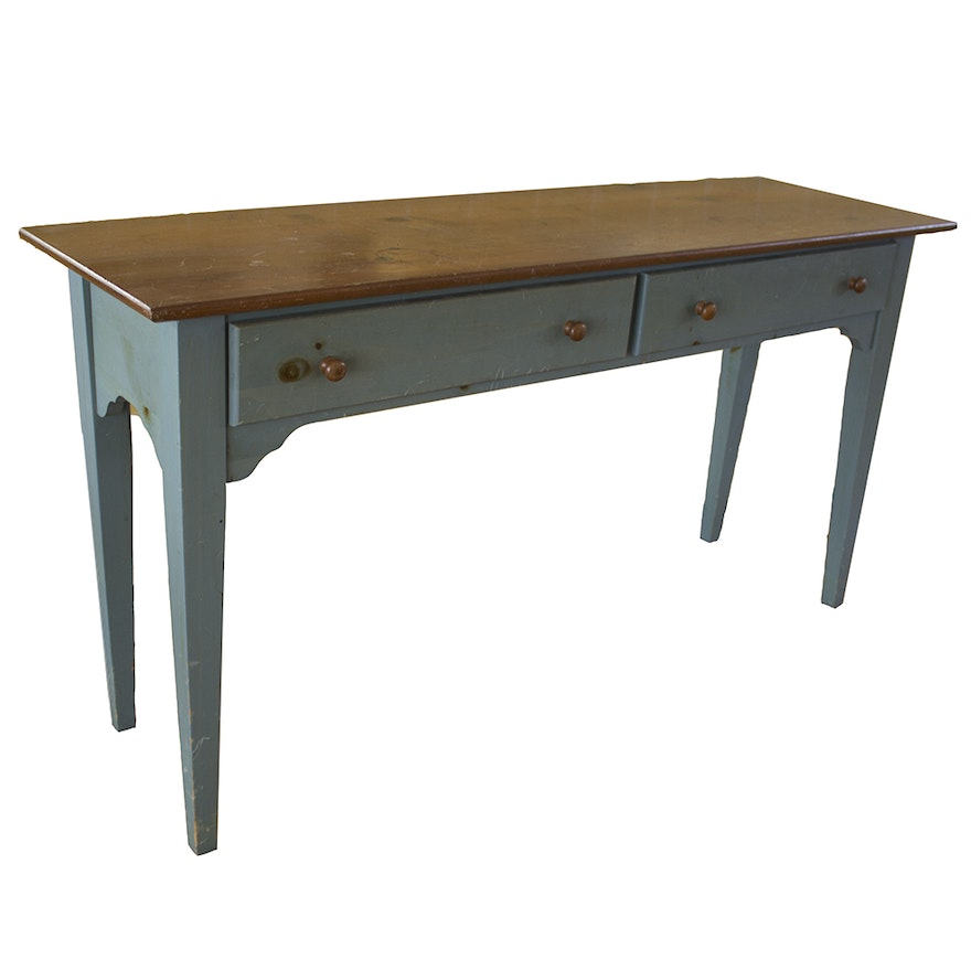 Yield House Painted Console Table