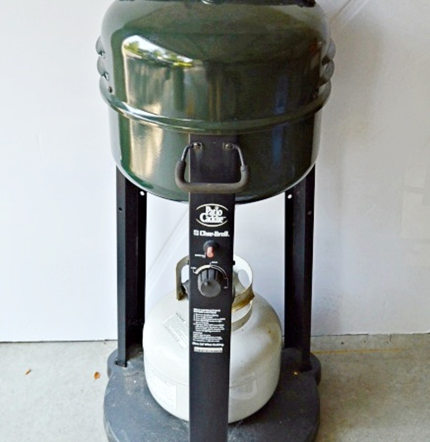 Patio Caddie Electric Grill Manual: Char-Broil Patio Caddie Grill : EBTH