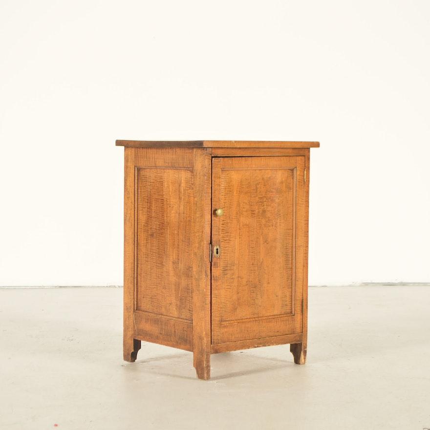 Antique Oak Chamber Pot Cupboard ... - Antique Oak Chamber Pot Cupboard : EBTH